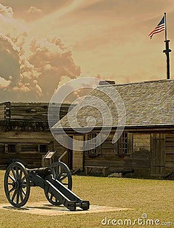 Ansicht von Fort stanwix