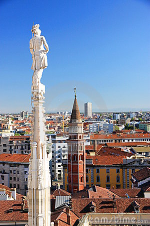 Ansicht von Mailand