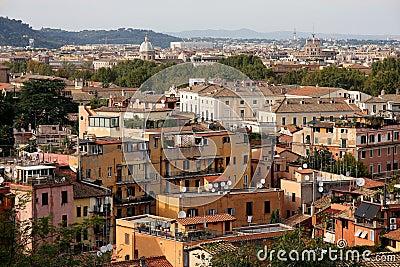 Ansicht von Rom