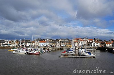 Anstruther Marina And Town