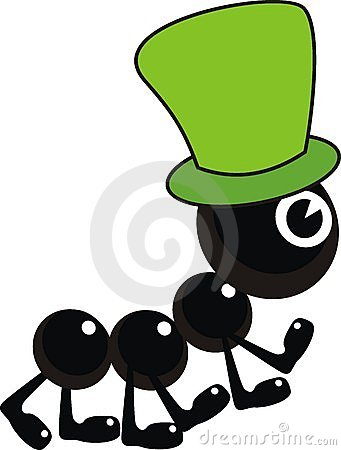 Free Ant In Green Hat Stock Photo - 15079140