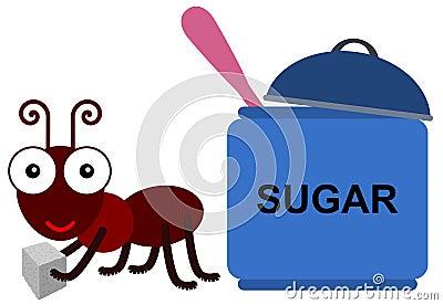 Ant s sugar