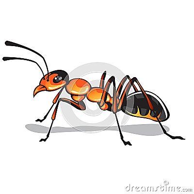 Free Ant Vector Art Stock Image - 71033641