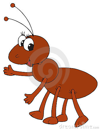 Free Ant (vector Clip-art) Royalty Free Stock Photo - 3279565