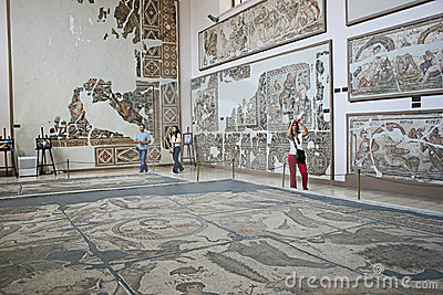Antakya Archaeological Museum,Turkey Editorial Stock Photo
