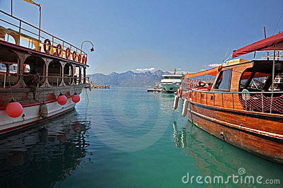 Antalya harbour Editorial Image