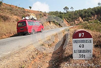 Antananarivo distance