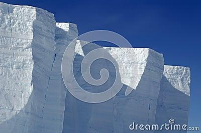 Antarctic ice shelf edge