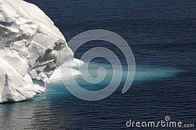 Antarctic ice tongue