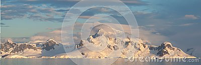 Antarctic Landscape panoramic