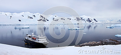 Antarctic Landscape Editorial Image