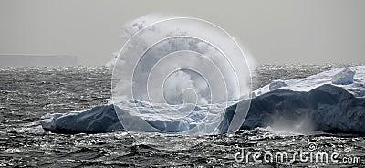 Antarctic surge