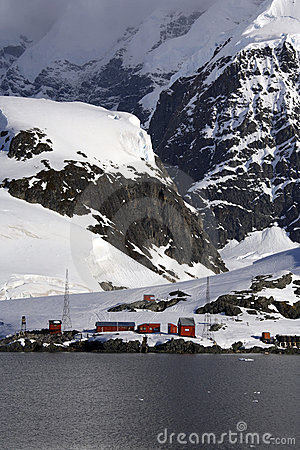 Antarctica - Argentine Research Base
