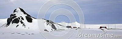 Antarctica - Argentine Scientific Research Base Editorial Stock Photo