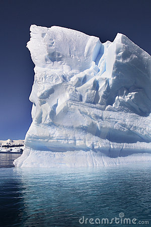 Free Antarctica - Iceberg - Cuverville Bay Stock Photography - 18962562