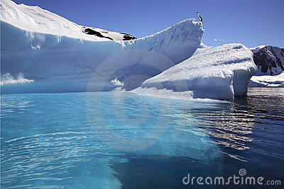 Antarctica - Iceberg in Cuverville Bay