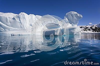 Antarctica - Iceberg - Cuverville Bay