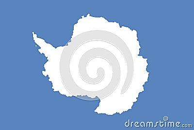 Antarctica official flag