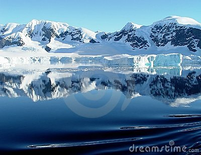 Antarctica s reflection