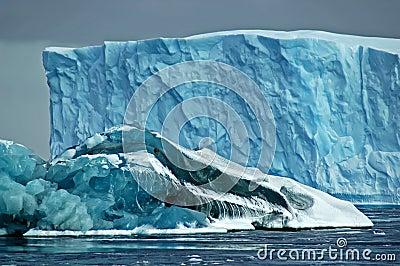 Antarctische ijsbergen