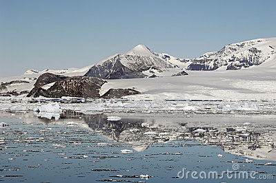 Antarktische Berge