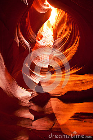 Free Antelope Canyon Seen From Inside Royalty Free Stock Photo - 25327335