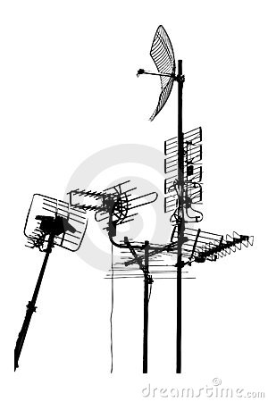 Antena dachu telewizja