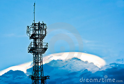 Antenna on the cloud