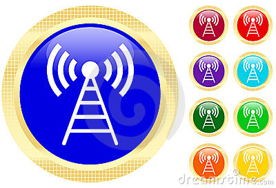 Antenna icon Editorial Image