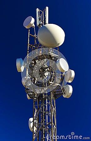 Free Antenna Tower Stock Photo - 35516130