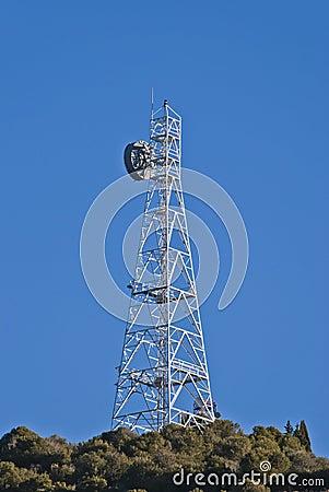 Antenna TV del ripetitore