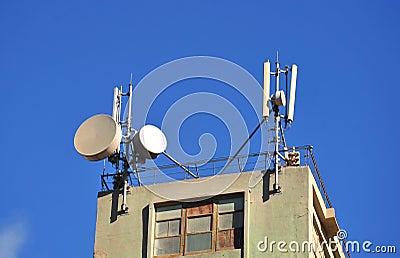 Antennas in the sky