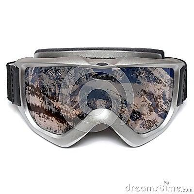 Anteojos del esquí