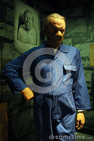 Free Anthony Hopkins As Hannibal Lecter Wax Statue Royalty Free Stock Photography - 78554327