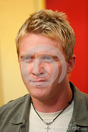 Anthony Michael Hall Editorial Stock Image