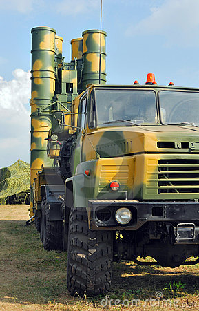Anti-aircraft defence system S-300 Rocket launcher