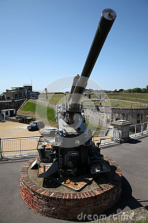 aircraft fort anti gun guards coast england war south nothe
