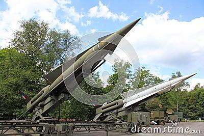 Anti Aircraft missiles MIM-14c Nike Hercules