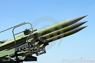 Anti aircraft rockets