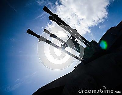Anti Aircraft Turret Defense Guns