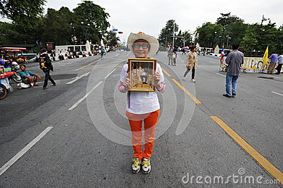 Anti-Government Protest Editorial Stock Image