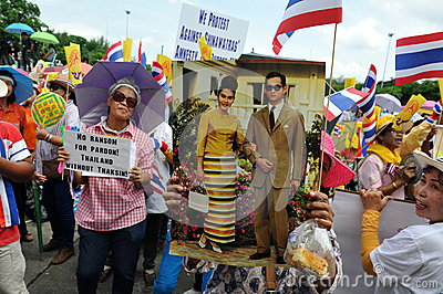 Anti-Government Rally Editorial Image