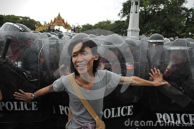 Anti-Government Rally in Bangkok Editorial Image