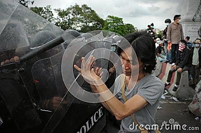 Anti-Government Rally in Bangkok Editorial Photo