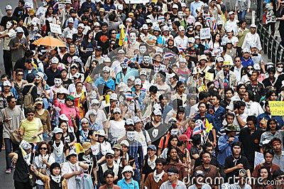 Anti-Government Rally Editorial Photo