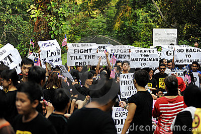 Anti-lynas Editorial Photography