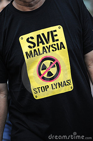 Anti-lynas Editorial Image