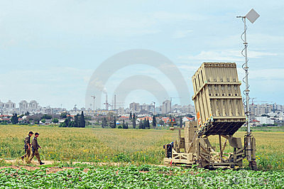 Anti-Missile System - Iron Dome Editorial Stock Image