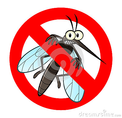 Free Anti Mosquito Sign Stock Photography - 40362832