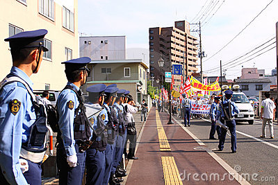 Anti-Nuclear Protests in Japan Editorial Photo